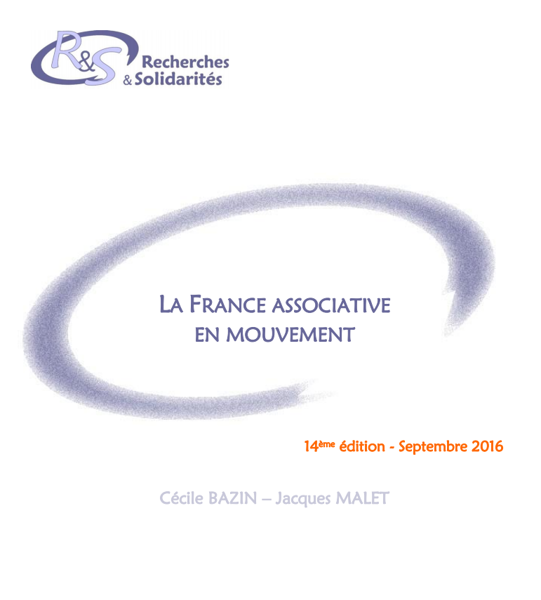 La France associative en mouvement – édition 2017