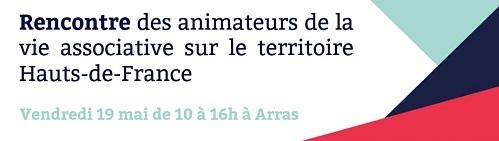 Rencontre des animateurs de la vie associative sur le territoire Hauts-de-France