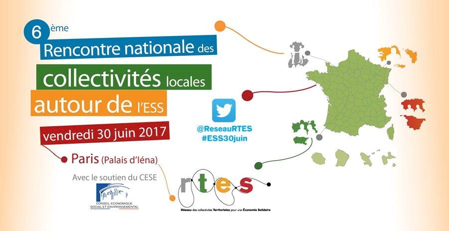6ème Rencontre nationale des collectivités locales autour de l'ESS