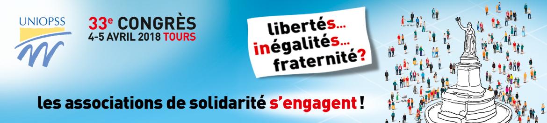 33e Congrès de l'Uniopss à Tours : Les associations de solidarité s'engagent!