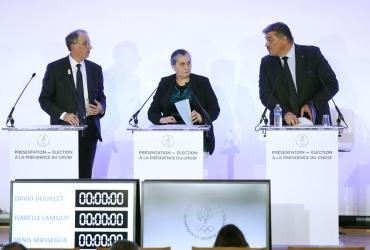 Denis Masseglia réélu président du CNOSF pour un troisième mandat
