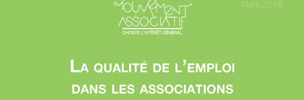 La qualité de l'emploi dans les associations : quels enjeux dans un contexte de crise ?