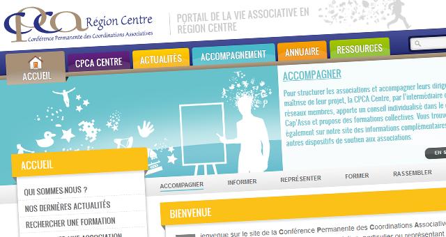 CPCA Centre: le nouveau site web est disponible