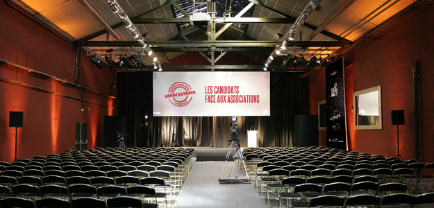 Samedi 10 mars 2012 à Saint-Denis: les candidats face aux associations