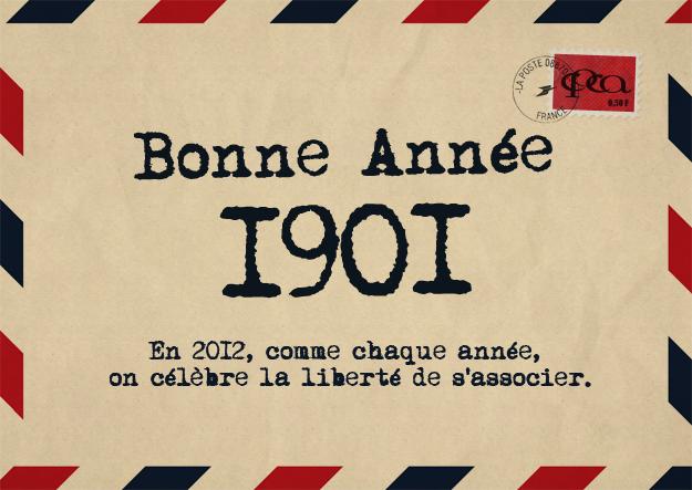 Bonne année… 1901!