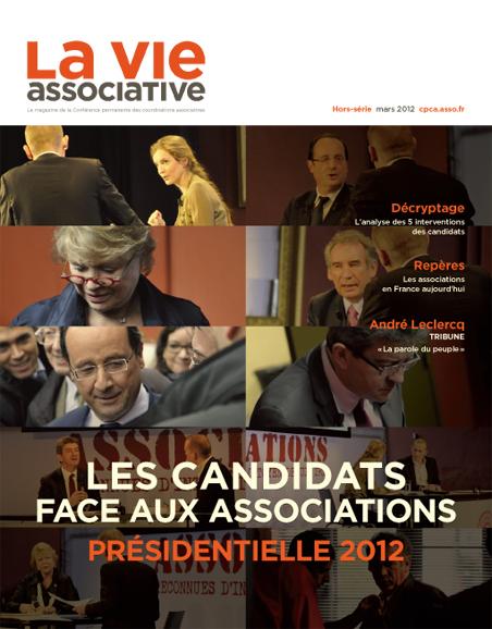 Les candidats face aux associations: présidentielle 2012 – Hors-série