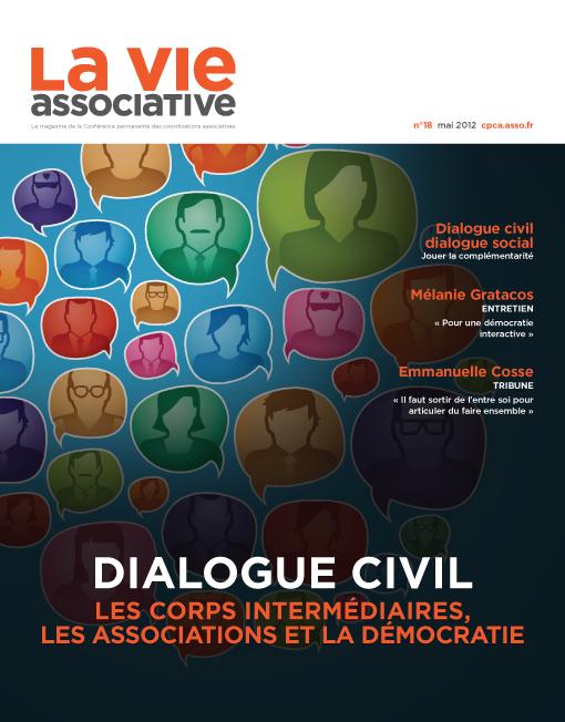 Dialogue civil: les corps intermédiaires, les associations et la démocratie – n°18