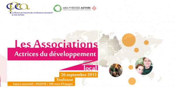 """CPCA Midi-Py : """" Les associations actrices du développement local """""""