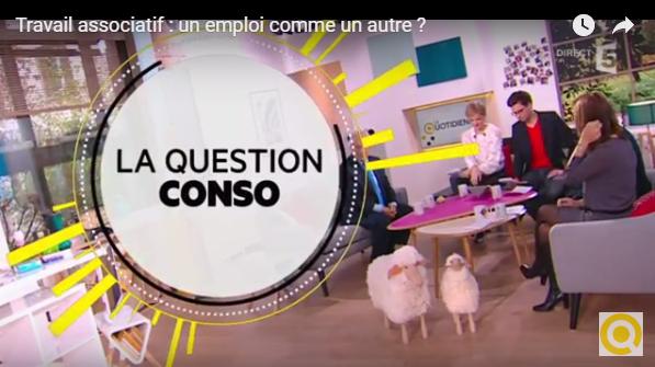 L'emploi associatif / France 5