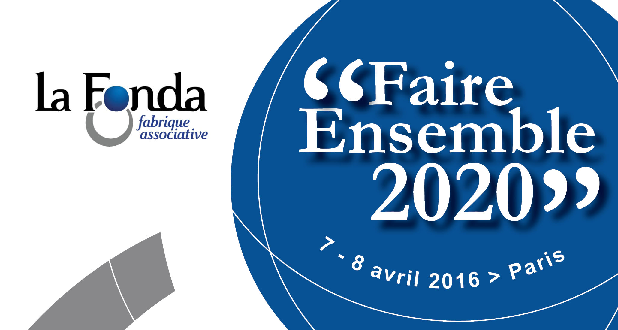 La Fonda : Université Faire Ensemble 2020
