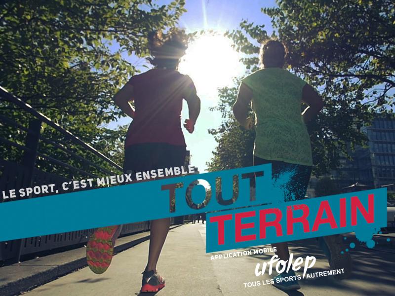 """L'UFOLEP lance """"Tout Terrain"""", l'application mobile qui permet de se réunir pour (re) trouver ensemble le plaisir de la pratique sportive !"""