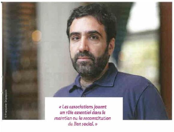 « Philippe Jahshan, associatif sans frontières » / Union sociale