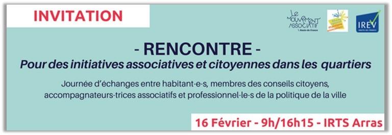 Rencontre Vie associative & Conseils citoyens