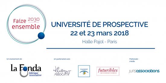 Université de prospective « Faire ensemble 2030 »