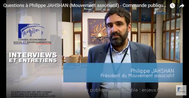 Questions à Philippe JAHSHAN – Commande publique / Le CESE