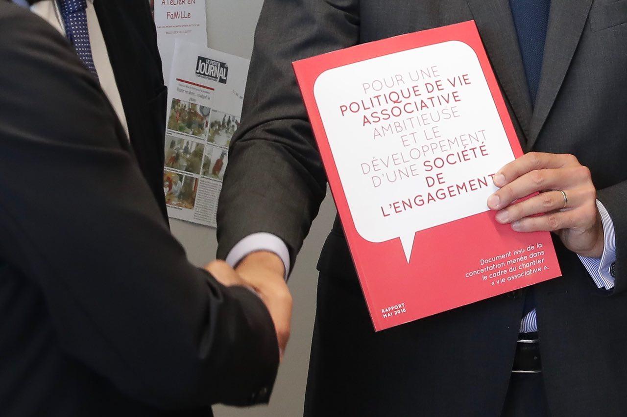Le Mouvement associatif remet au Premier Ministre le rapport issu du chantier vie associative