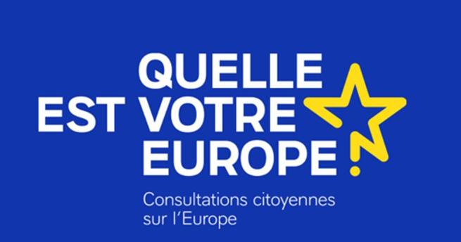 Consultation citoyenne : Renforçons le dialogue entre l'Europe et les citoyens