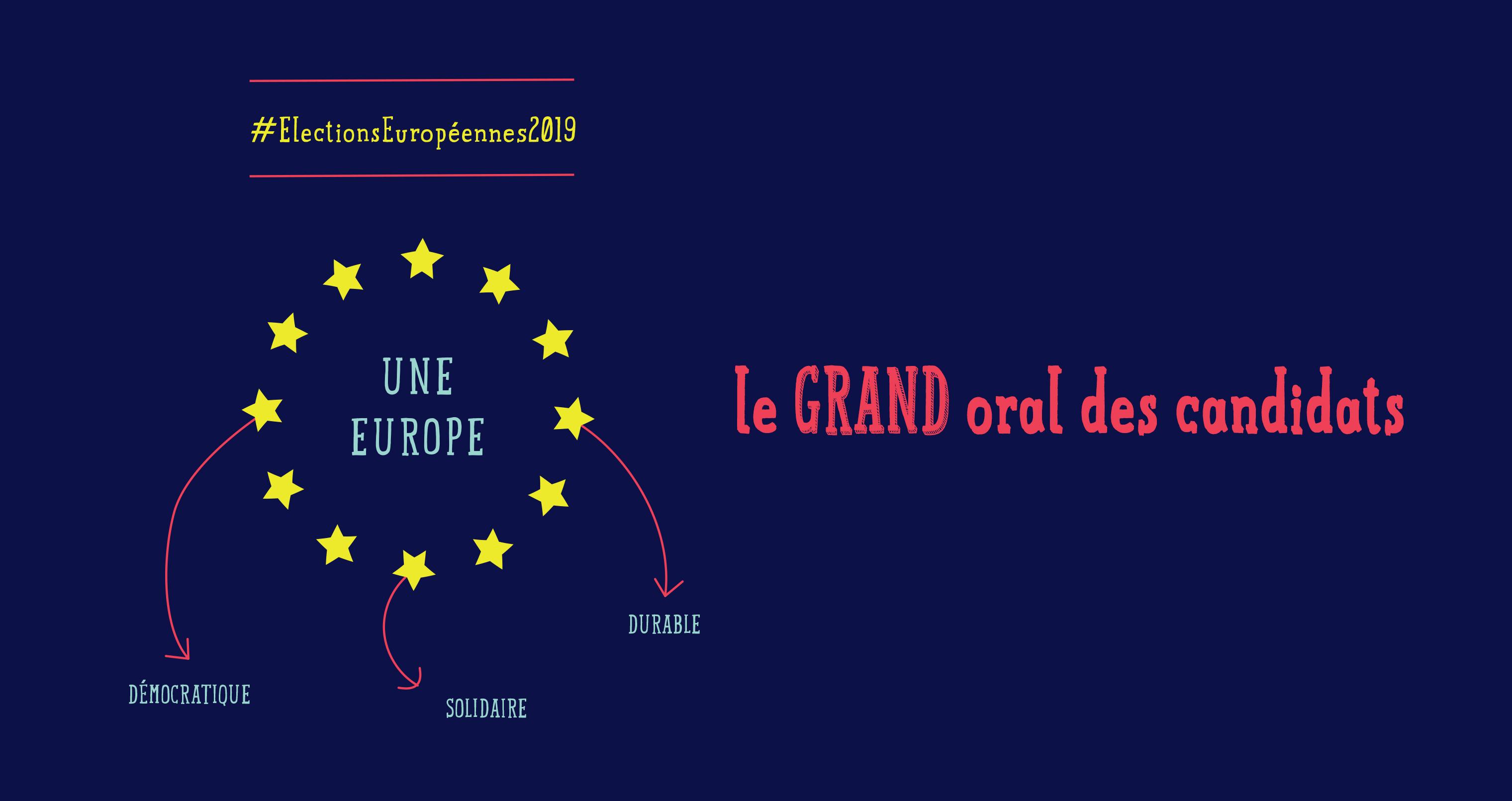 #ElectionsEuropéennes : le grand oral des candidats