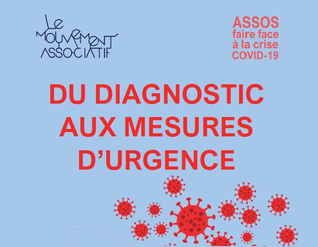 COVID-19 & associations : du diagnostic aux mesures d'urgence