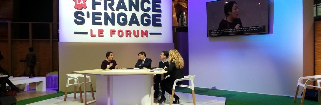 Le Mouvement associatif au Forum «La France s'engage»