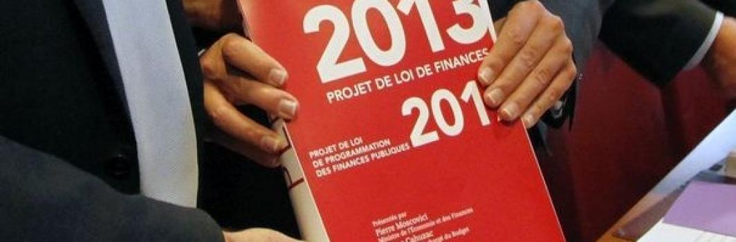 Projet loi de finances 2013: l'analyse du CNAJEP