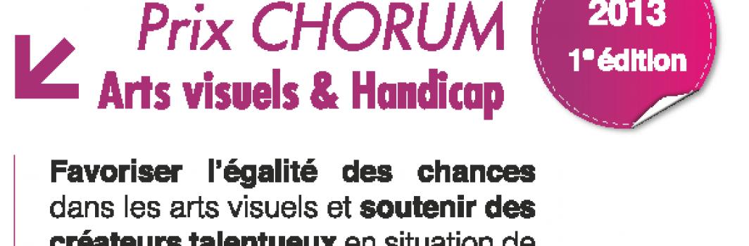 Prix Chorum : Arts visuels et handicap