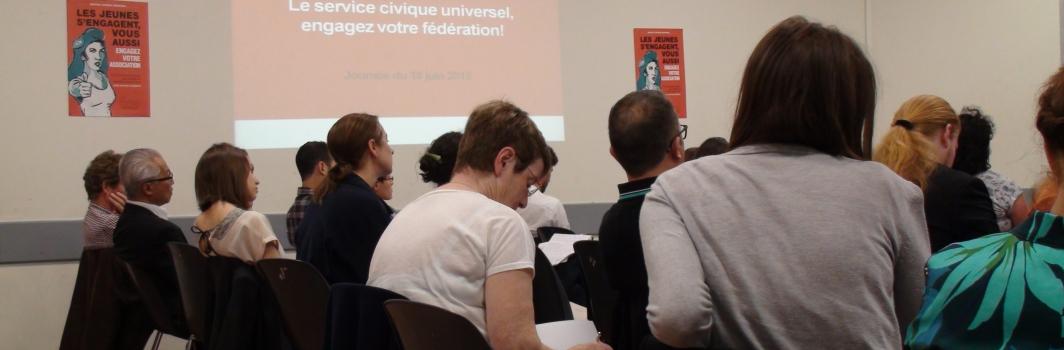 Retour sur la première  journée d'informations et de témoignages de pratiques sur le service civique en association
