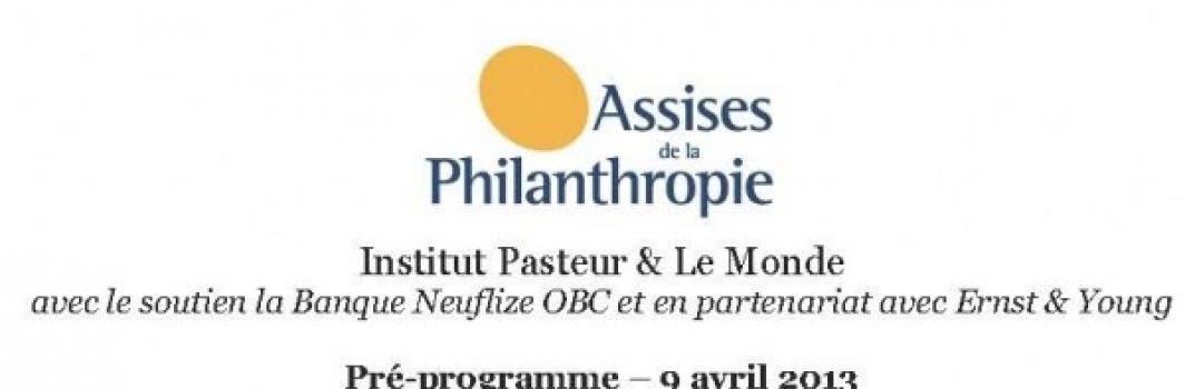 3èmes Assises de la Philanthropie