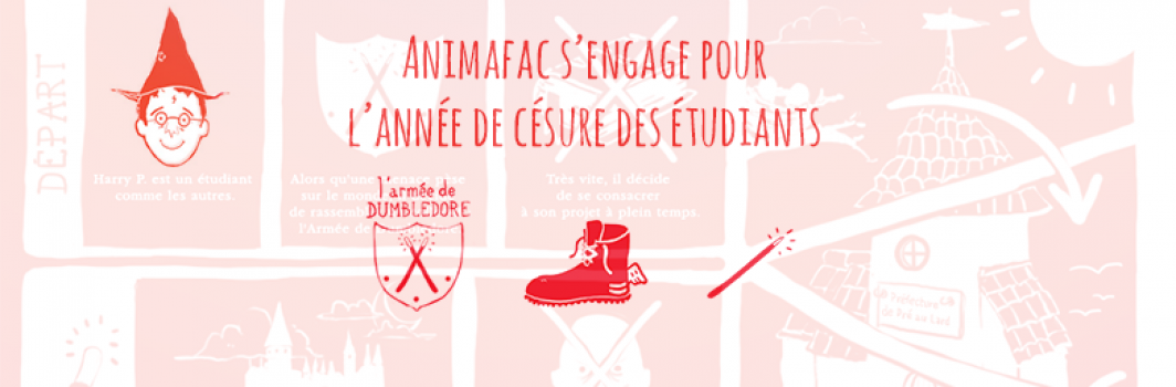 Animafac lance une campagne décalée pour le droit à la césure des étudiants