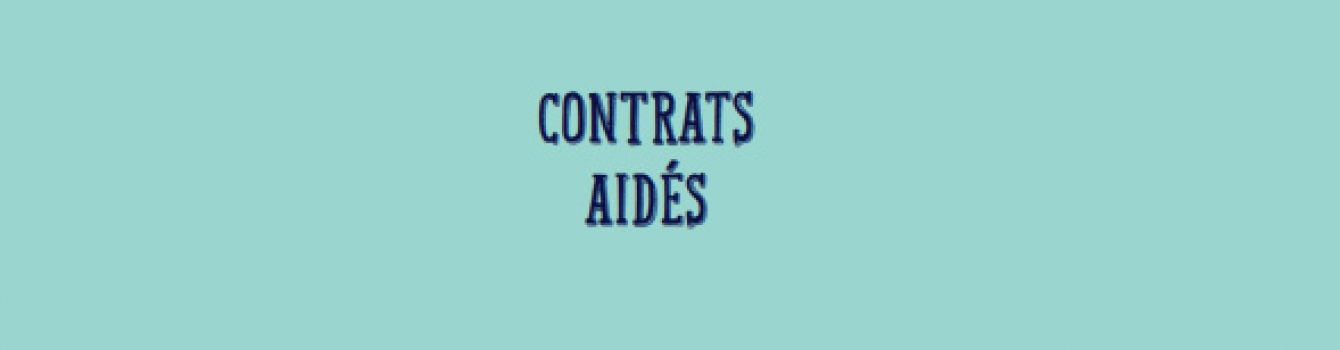 Gel des contrats aidés : nos communiqué de presse