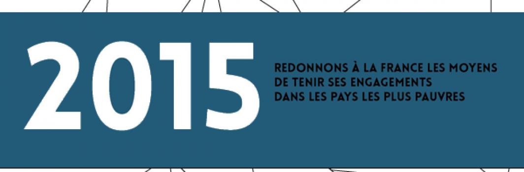 """Coordination Sud : analyse du volet """"Aide publique au développement"""" du PLF 2015"""