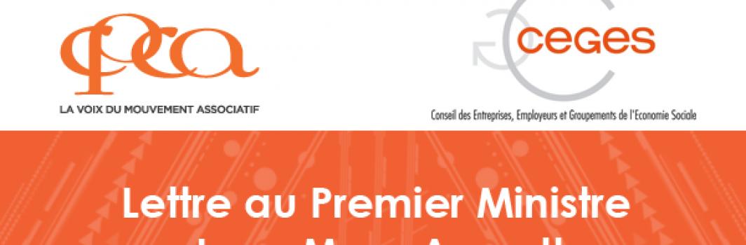 Crédit d'impôts aux entreprises : Le Mouvement associatif et le CEGES alertent le Premier Ministre, Jean Marc Ayrault