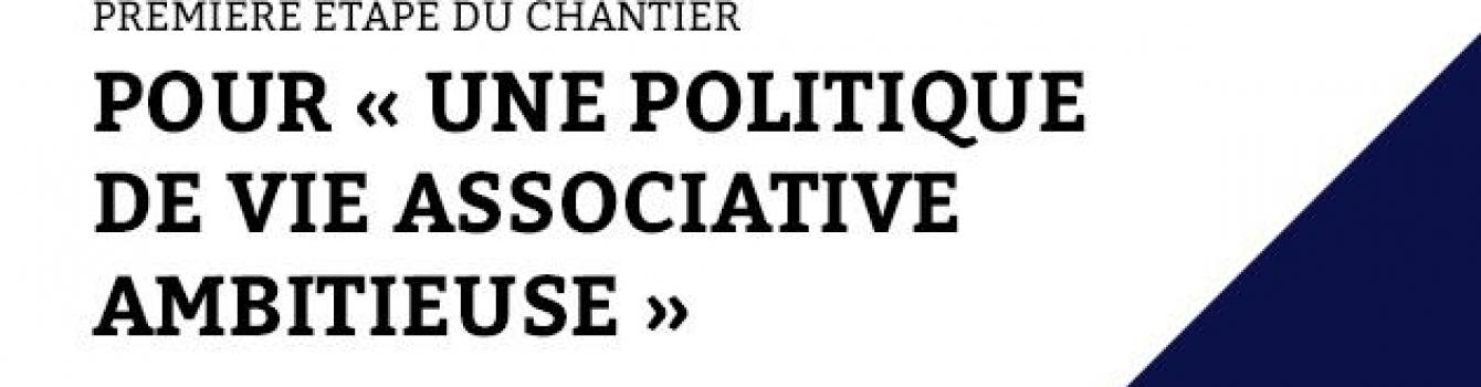 Une politique de vie associative ambitieuse / La lettre de l'économie sociale