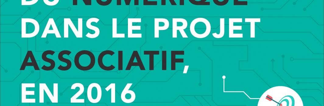 Rapport d'étude: La place du numérique dans le projet associatif, en 2016