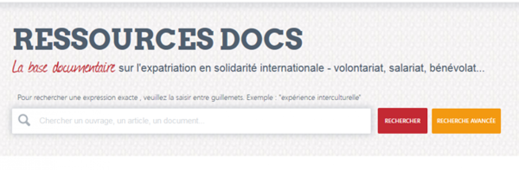 Une base documentaire sur l'expatriation solidaire